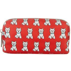 Marc Tetro Westie Print Pencil Case Zipper Pouch