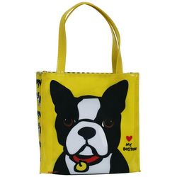Marc Tetro Boston Terrier Lunch Tote Bag