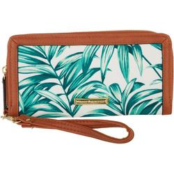 Stefy Za Palm Print Phone Wallet