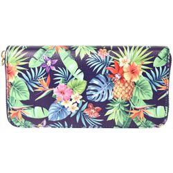 Coral Bay Tropical Pineapple Wristlet Wallet
