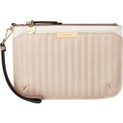 Kennedy Quilted Rows Wristlet