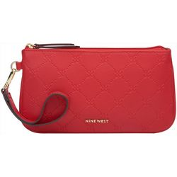 Nine West Quilted Pattern Wristlet