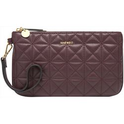 Nine West Vintage Lady Quilted Texture Wristlet