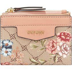 Nine West Cara Floral Print Wallet