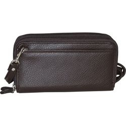 Buxton Ultimate RFID Organizer Crossbody Handbag