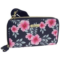 Buxton Hibiscus Print Ultimate Wallet
