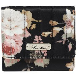Buxton Floral Print Billfold Wallet