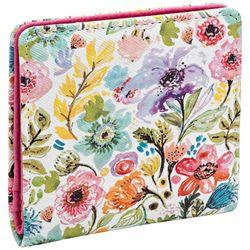 Buxton RFID Petite Garden Print Snap Bill Fold Wallet