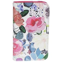 Buxton Love Floral Snap Card Wallet