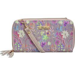 Buxton Floral Organizer Wallet