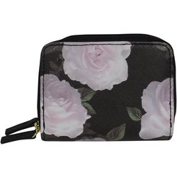 Buxton Roses RFID Wizard Wallet