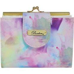 Buxton Watercolor RFID Double Cardex Wallet