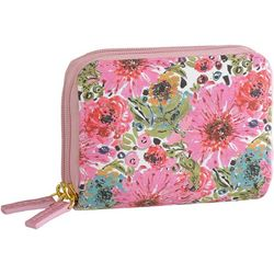 Buxton Spring In Bloom RFID Wizard Wallet