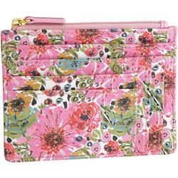 Spring In Bloom RFID Large Coin & Card Wallet