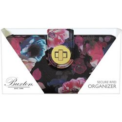 Buxton Midnight Rose RFID Wallet