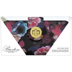 Midnight Rose RFID Wallet