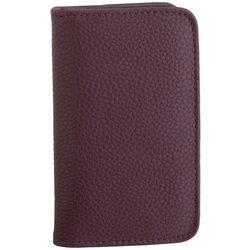 Buxton RFID Solid Snap Closure Card Wallet