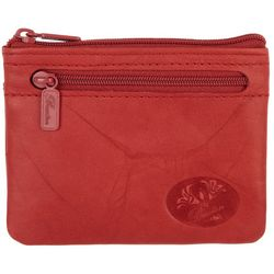Buxton Solid  Leather RFID Coin & Card Wallet