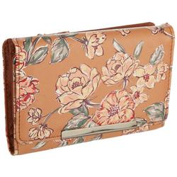 Amsterdam Galway Floral Mini Bar Antimicrobial Wallet