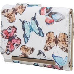 Anna Butterfly Tri-Fold Wallet