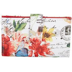Mundi Poetic Floral Debbie Double Up Wallet