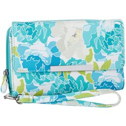 Mundi RFID Floral Design Big Fat Wallet