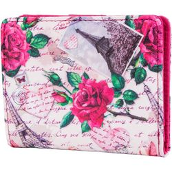 Mundi Floral Paris Halifax Mini RFID Bifold Wallet
