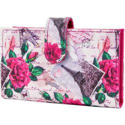 Mundi RFID Floral Paris Debbie Double Wallet