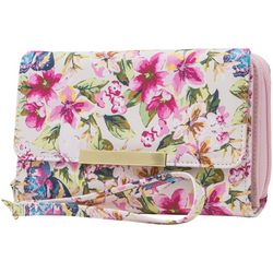Mundi RFID Floral Print Big Fat Wallet
