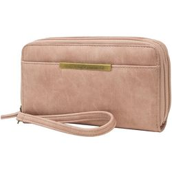 Mundi Solid Arizona Double Zip Wallet