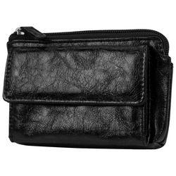 Mundi Black Metallic Keepsake Wallet