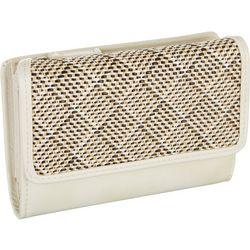 Mundi Sisal Weave Amsterdam RFID Safekeeper Wallet