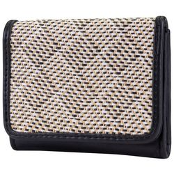 Mundi Embroidered Geometric Anna RFID Wallet