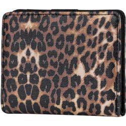 Mundi Leopard Print Halifax Mini RFID Bifold Wallet
