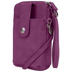 Mundi Buff Kennedy Crossbody Wallet