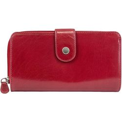 Mundi Vintage Look Leather Clutch Wallet