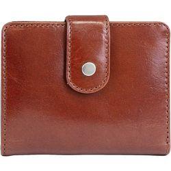Mundi Vintage Look Leather Snap Wallet