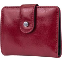 Mundi Vintage Look Leather Snap Wallet