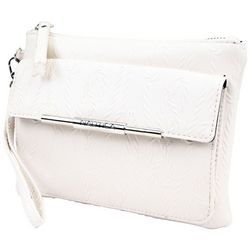 Nautica Textured Bone Flap Wristlet
