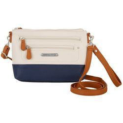 Stone Mountain Three Bagger Navy Crossbody Handbag