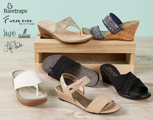 Women's Sandals from Baretraps, Wear. Ever., Impo, Italian Shoemakers & LifeStride