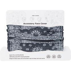 Basha Womens Paisley 4 Way Cowl Facemask