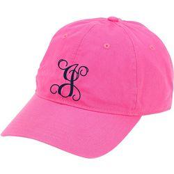 Womens Monogram J Baseball Hat