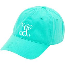 Viv & Lou Womens Monogram J Baseball Hat