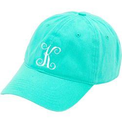 Womens Monogram K Baseball Hat