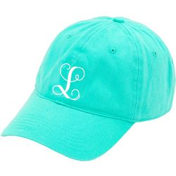 Viv & Lou Womens Monogram L Baseball Hat