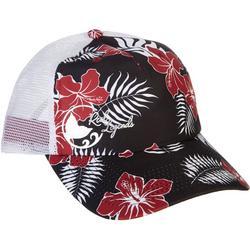 Womens Tropical Trucker Hat