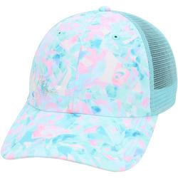 Womens Beach Glass Bubble Trucker Hat
