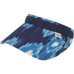 Coral Bay Golf Womens Tie Dye Print Visor