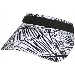 Coral Bay Golf Womens Nite Palm Frond Print Visor